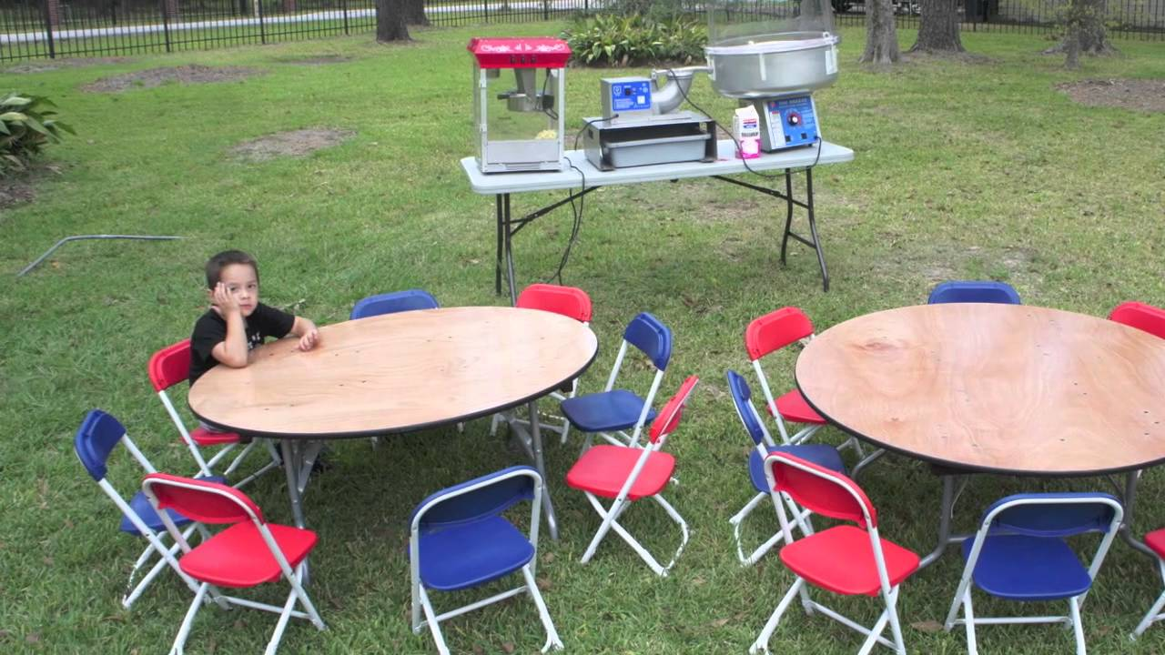 Where Can I Rent Tables And Chairs Kids Tables Chairs For Rent Sky High Party Rentals