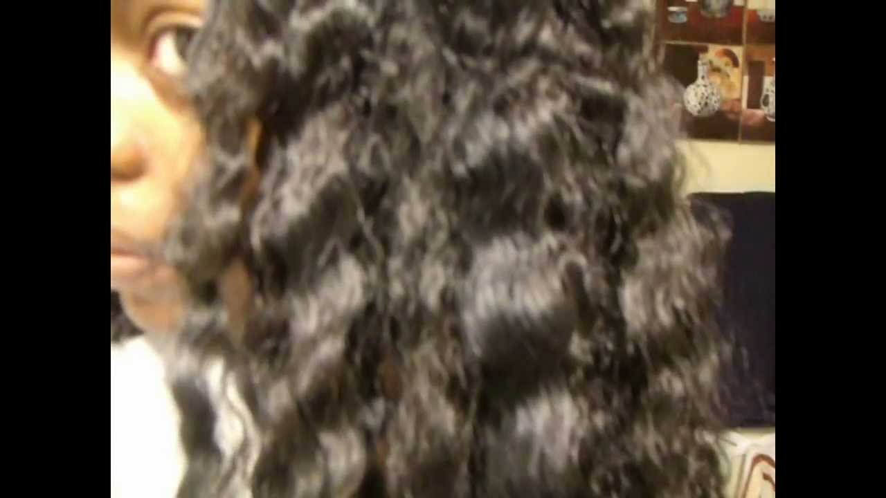 How To Curl Synthetic Hair Using Hot Water Part 2 46 Youtube