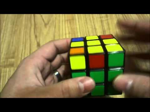 How To Solve A Rubik's Cube-Part 4-Solving The Yellow Cross (Tutorial)