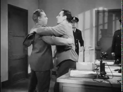 George Raft and James Cagney blooper from Each Dawn I Die (1940)