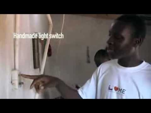 African Genius, 14 Year Old Self Taught Engineer makes Electricity For Village (NyInternetCafe.Org)