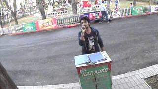 Main hoon hero Tera cover by Rishi - ESSEL WORLD KARAOKE