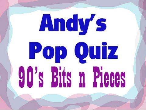 Pop Quiz No22 - 10 x 90s Mega Hits