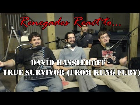 Renegades React to... True Survivor by: David Hasslehoff (From Kung Fury)