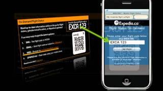 sparqcodes with expedia ca flight status on demand