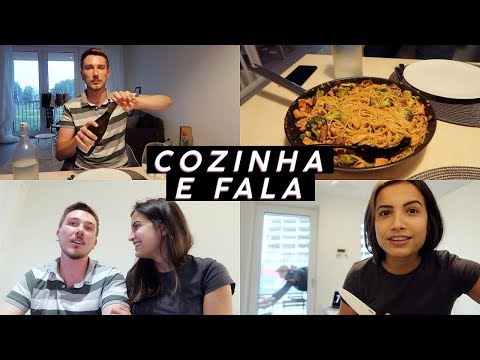 COZINHA E FALA: yakisoba e tudo sobre nosso aluguel, mudança, curiosidades e mais!