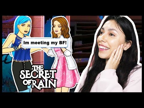 MEETING HER ONLINE BOYFRIEND FOR THE FIRST TIME! - THE SECRET OF RAIN (Episode 11) - App Game