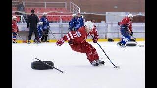 Что такое Crossover в хоккее? Как научиться выполнять Crossover?
