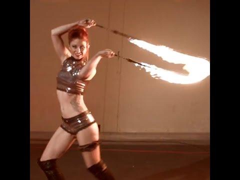 Fire Dancing is Smoking Hot!