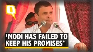 Modi Failed to Keep Promises Made in Lok Sabha Polls: Rahul Gandhi