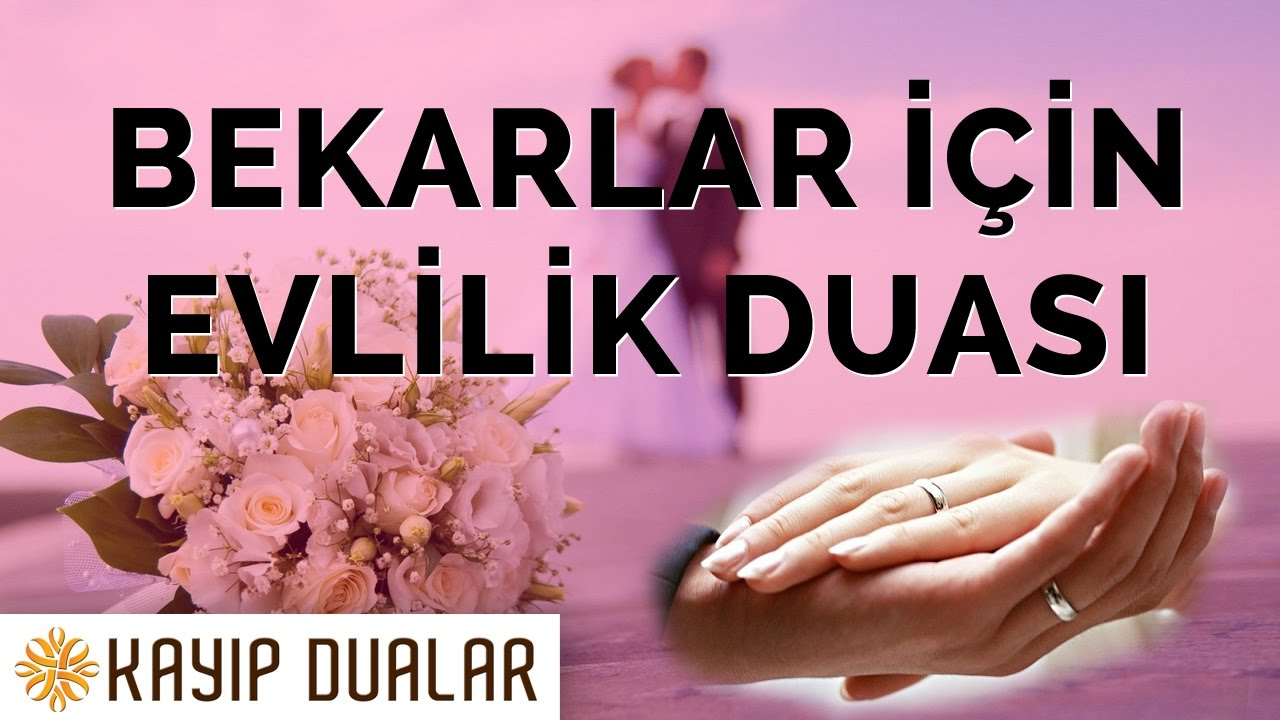 Bir kızın evliliği için dua