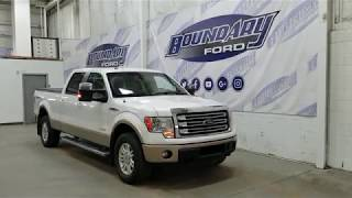 Pre-owned 2014 Ford F-150 SuperCrew Lariat 501A W/ 3.5L EcoBoost Overview | Boundary Ford