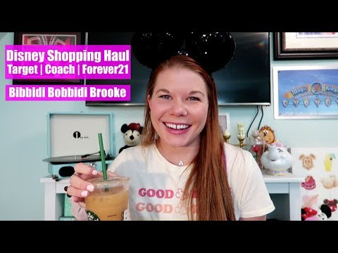 Disney Shopping Haul | Target, Coach, Forever21 May 2018