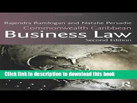 Ebook Commonwealth Caribbean Business Law