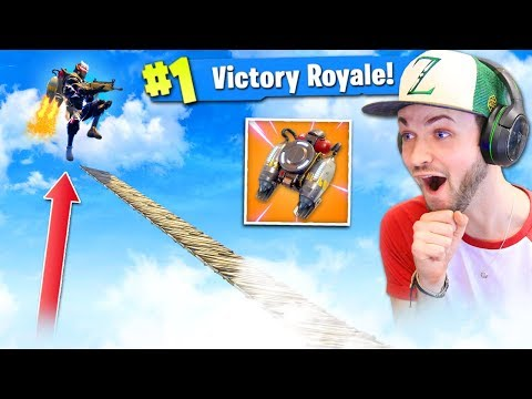 The *BEST* JETPACK STRATEGY in Fortnite: Battle Royale!