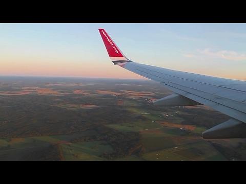 Norwegian 737-800 Oslo-Tallinn Safety, Takeoff, Inflight, Landing DY1060