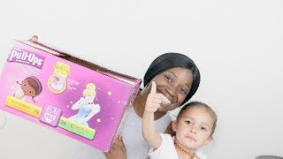 TRANSITIONING FROM PULL UPS TO BIG KID UNDERWEAR! BEST PAMPERS, PULL UPS FOR POTTY TRAINING!
