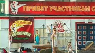 Выступления Открытый чемпионат кубка ДС Шахтёр по спортивной гимнастике 29 04 16