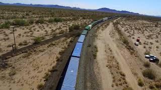 Sonora Desert at Shawmut, AZ train.