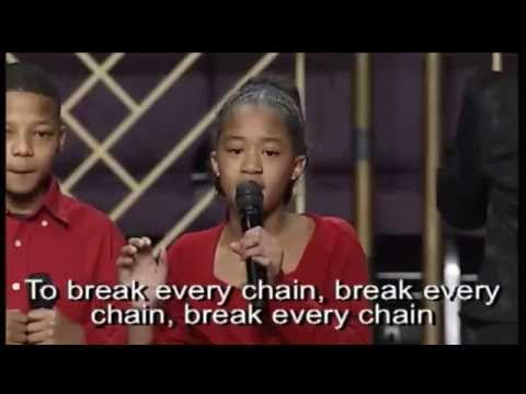 """Break Every Chain"" Tasha Cobb, Sunbeams Choir"