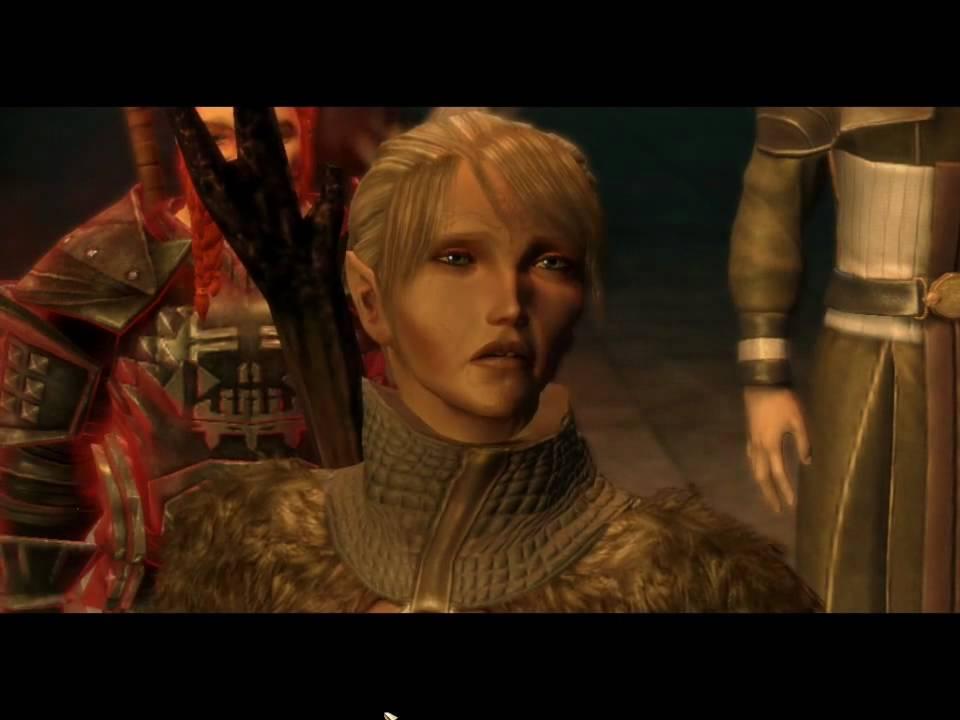 Dragon Age Origins Awakening The Architect At The Mines Youtube