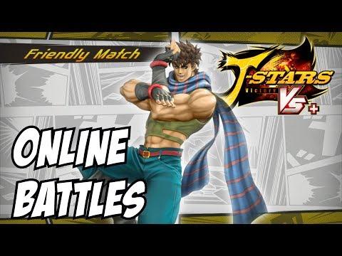 J stars victory vs + Joseph Joestar online matches ps4 gameplay