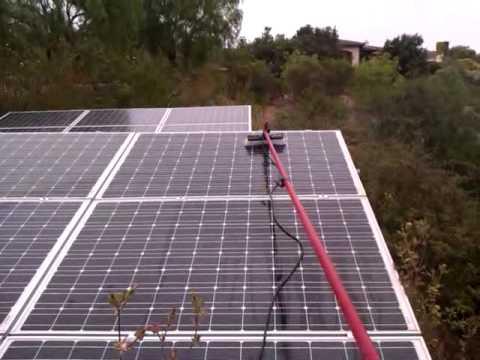 San Diego Solar Panel Cleaning in Santa Luz