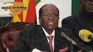 La caída del dictador Robert Mugabe en Zimbabue