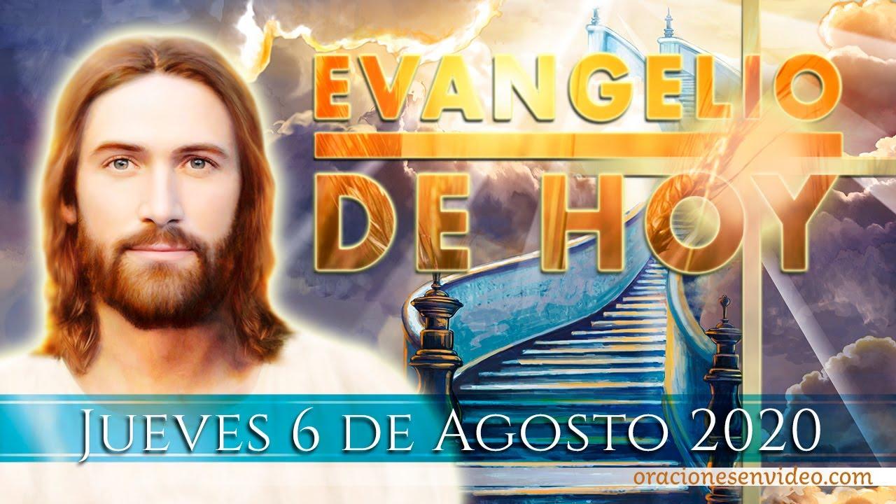 Evangelio jueves 6 Agosto 2020.  Transfiguración del Señor.