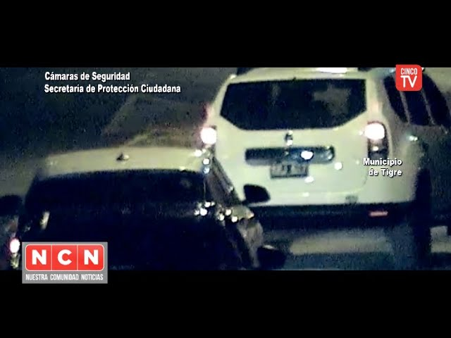 CINCO TV - Robaron una camioneta y fueron capturados en minutos