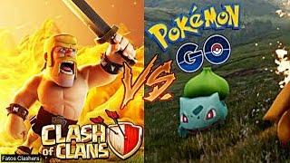 [TRETA] Clash Of Clans VS. Pokémon GO