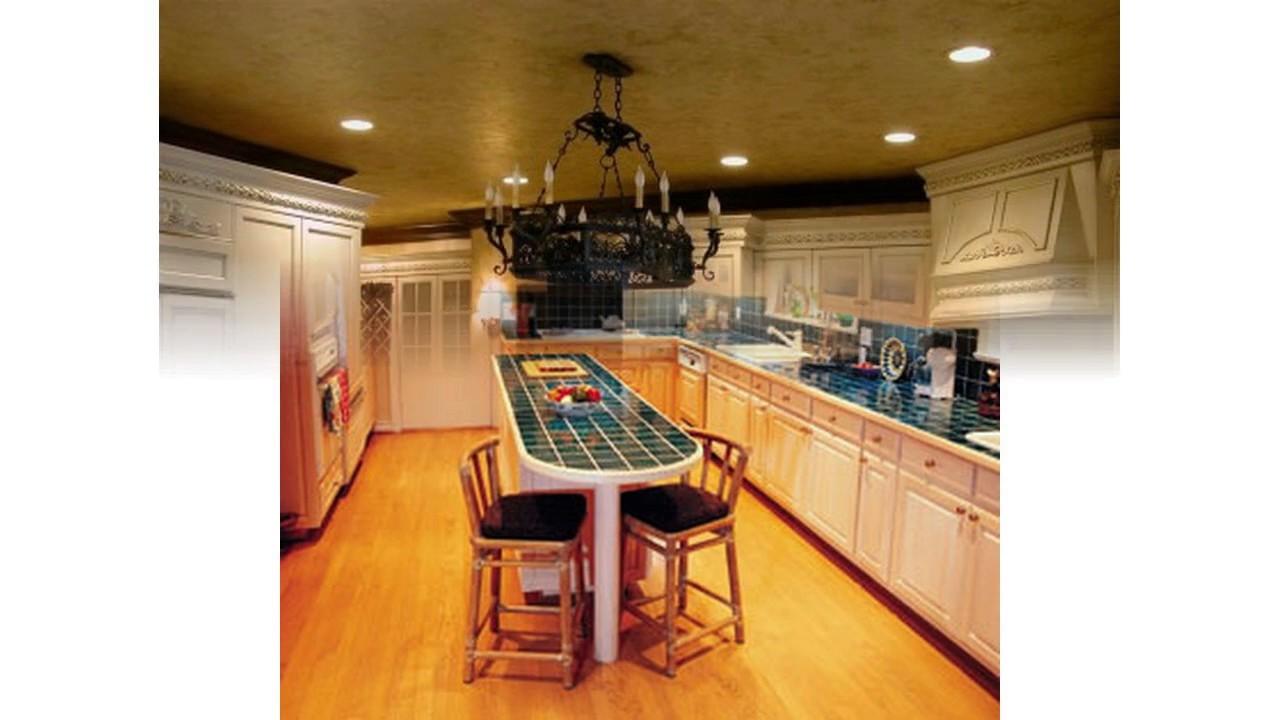 Küche deckenbeleuchtung design - YouTube