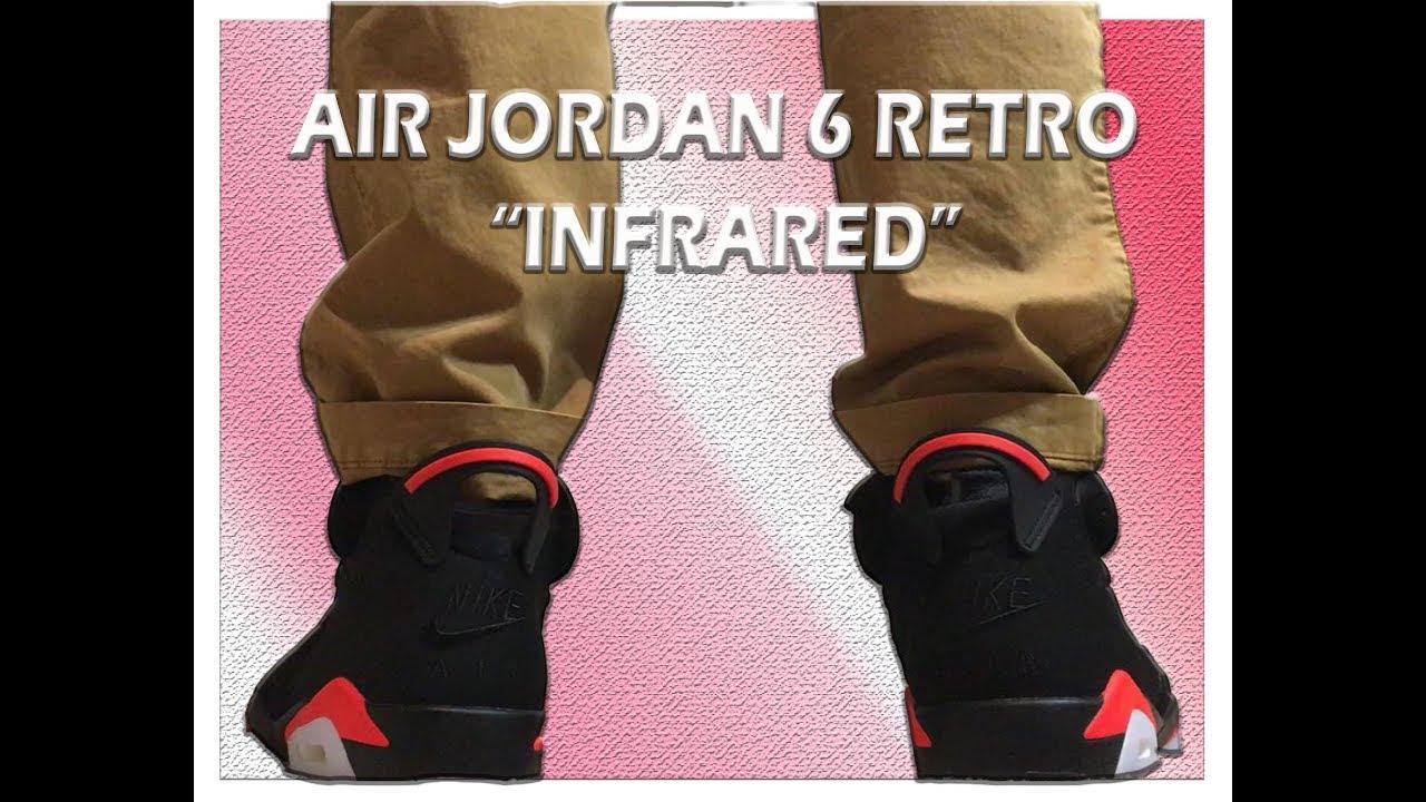 2019 Nike Air Jordan 6 Retro Infrared Unboxing - YouTube 4a2dfaab9