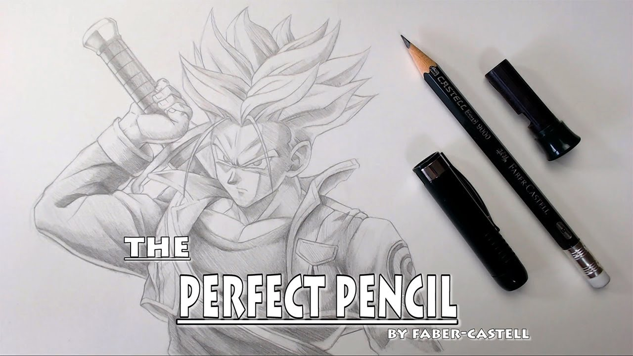 I own the perfect pencil drawing trunks dragonball z
