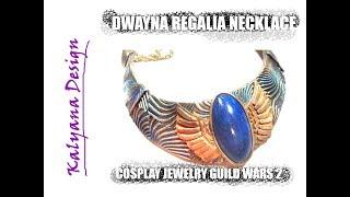 Dwayna's regalia necklace (Guild Wars 2 inspired) cosplay jewelry tutorial 221