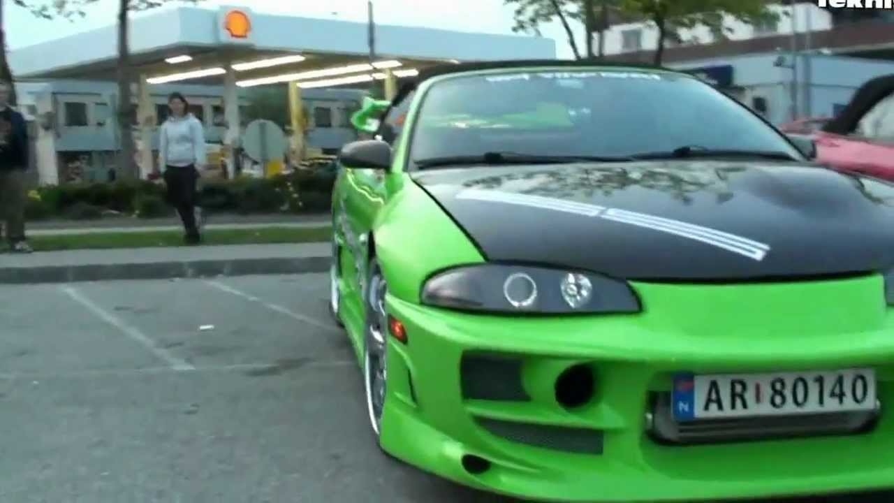 tuning mitsubishi eclipse g2 obves body kit 3. Black Bedroom Furniture Sets. Home Design Ideas