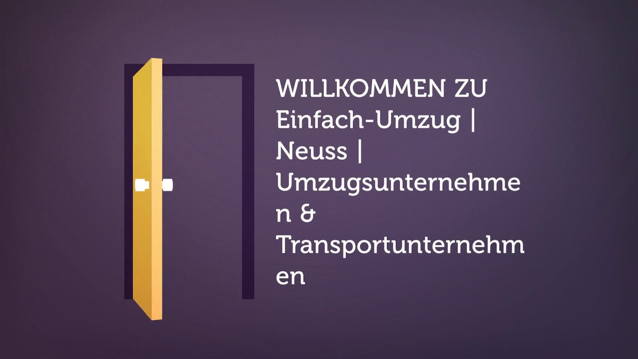 Einfach-Umzug | Neuss | Umzugsunternehmen & Transportunternehmen