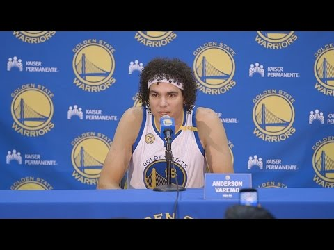 Anderson Varejao Media Day Press Conference | Golden State Warriors | 2016-17 NBA Season