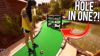That's A New Way To Get A Mini Golf Hole In One! 🤣