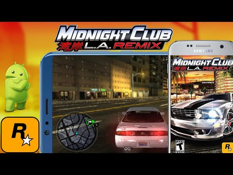 How To Download Midnight Club L.a.Remix || For Android On PSP Emulator 100%Work
