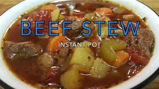 INSTANT POT | Beef Stew