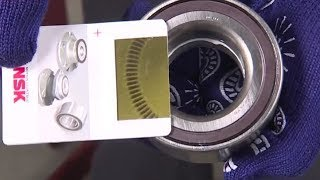 How to replace a Wheel Hub Bearing with magnetic encoder for ABS cars - NSK