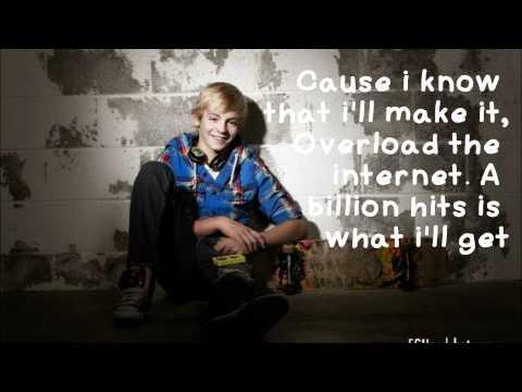 Ross Lynch (Austin Moon)- A Billion Hits Lyrics