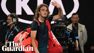 Stefanos Tsitsipas said he was unable to find any positives from his straight-sets thrashing at the hands of Rafael Nadal in their Australian Open semi-final.