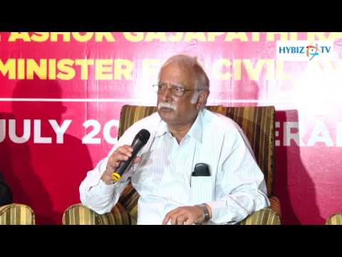 Ashok Gajapathi Raju Civil Aviation Union Minister - Spicejet smart Check-in Facility