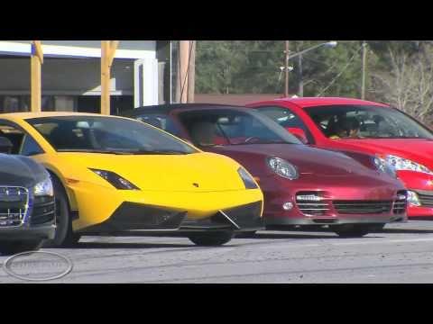 Performance Car Exhaust. Perfil autos