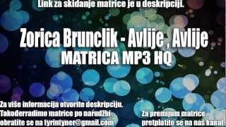 Zorica Brunclik - Avlije,Avlije MATRICA DOWNLOAD FREE | [MP3]