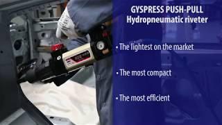 GYS - Hydropneumatic riveter GYSPRESS 8T PUSH-PULL
