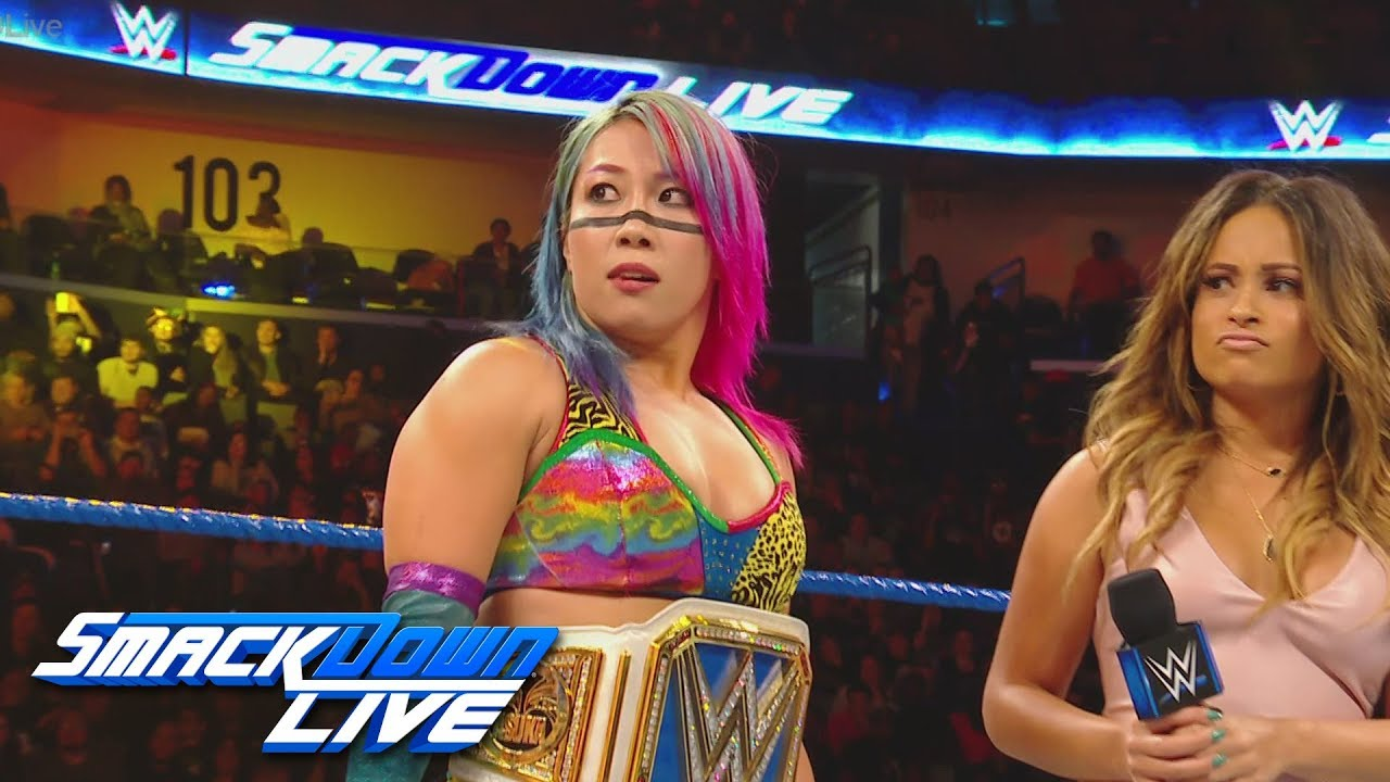 Mandy Rose interrupts Asuka: SmackDown LIVE, Feb. 19, 2019