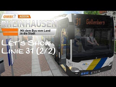 OMSI 2 Addon Rheinhausen Linie 31 (2/2) | C2Ü | Linie 31 Wickenberg → Gellenberg ☆ Let's Play OMSI 2